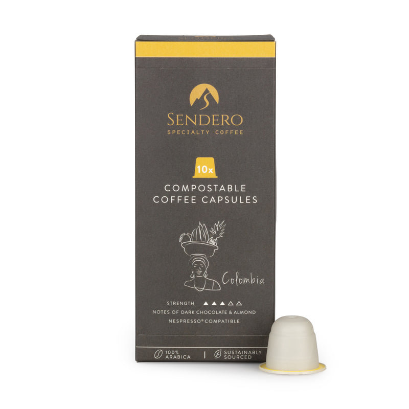 Colombia | 10 Compostable Capsules £0.49/capsule