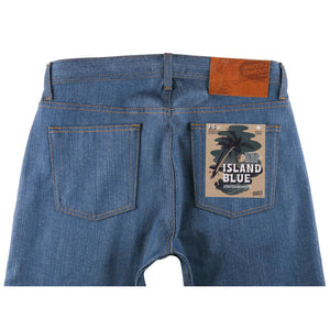 Naked & Famous - Island Blue Stretch Selvedge - The Populess Company