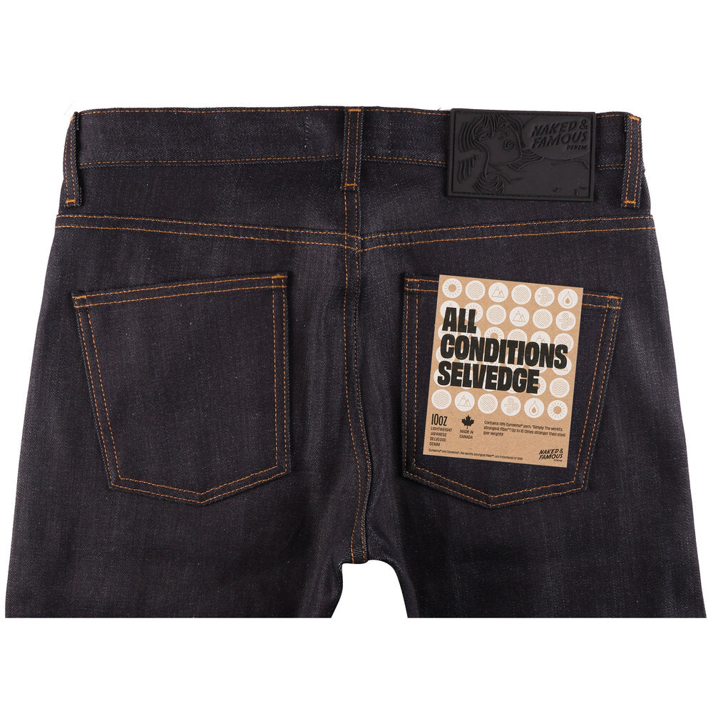 Naked & Famous - All Conditions Selvedge - The Populess Company
