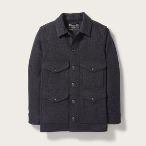 Filson - Mackinaw Cruiser - Charcoal - The Populess Company