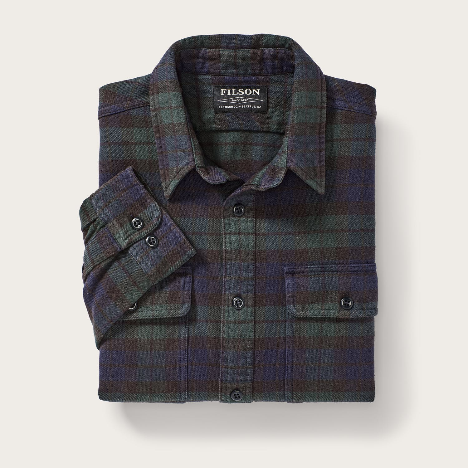 Filson - Vintage Flannel Work Shirt - The Populess Company