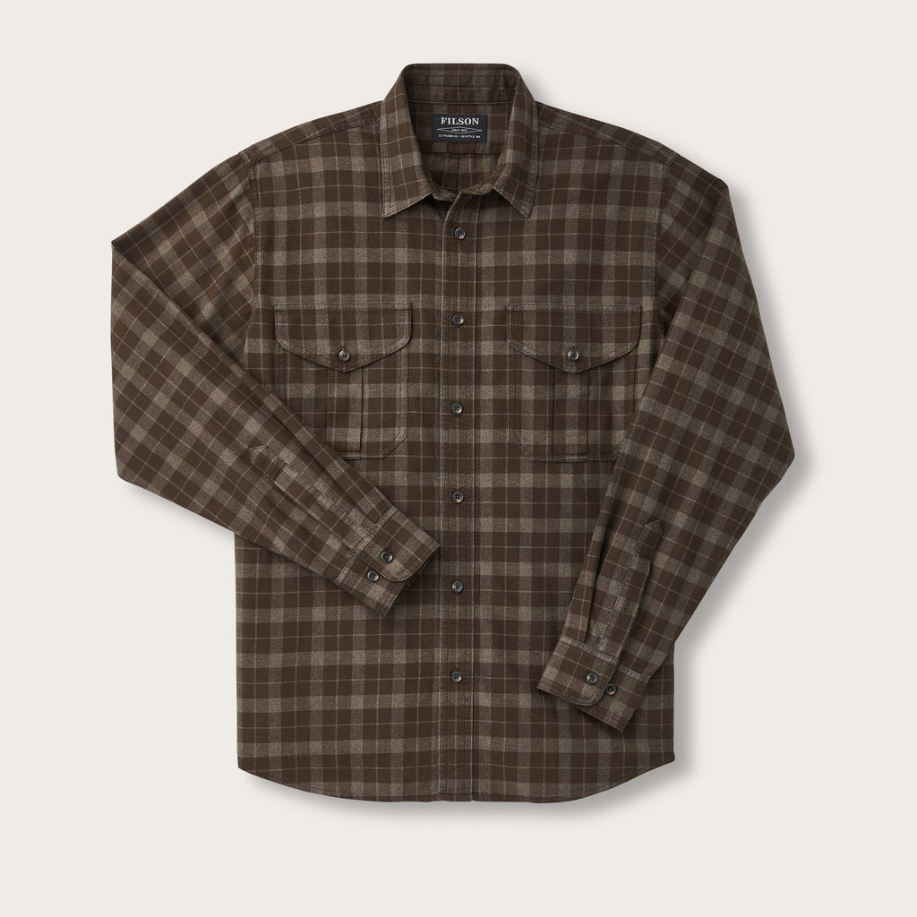 Filson - Lightweight Alaskan Guide Shirt - Brown / Taupe - The Populess Company