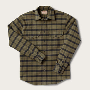 Filson - Alaskan Guide Shirt - Otter Green / Black - The Populess Company