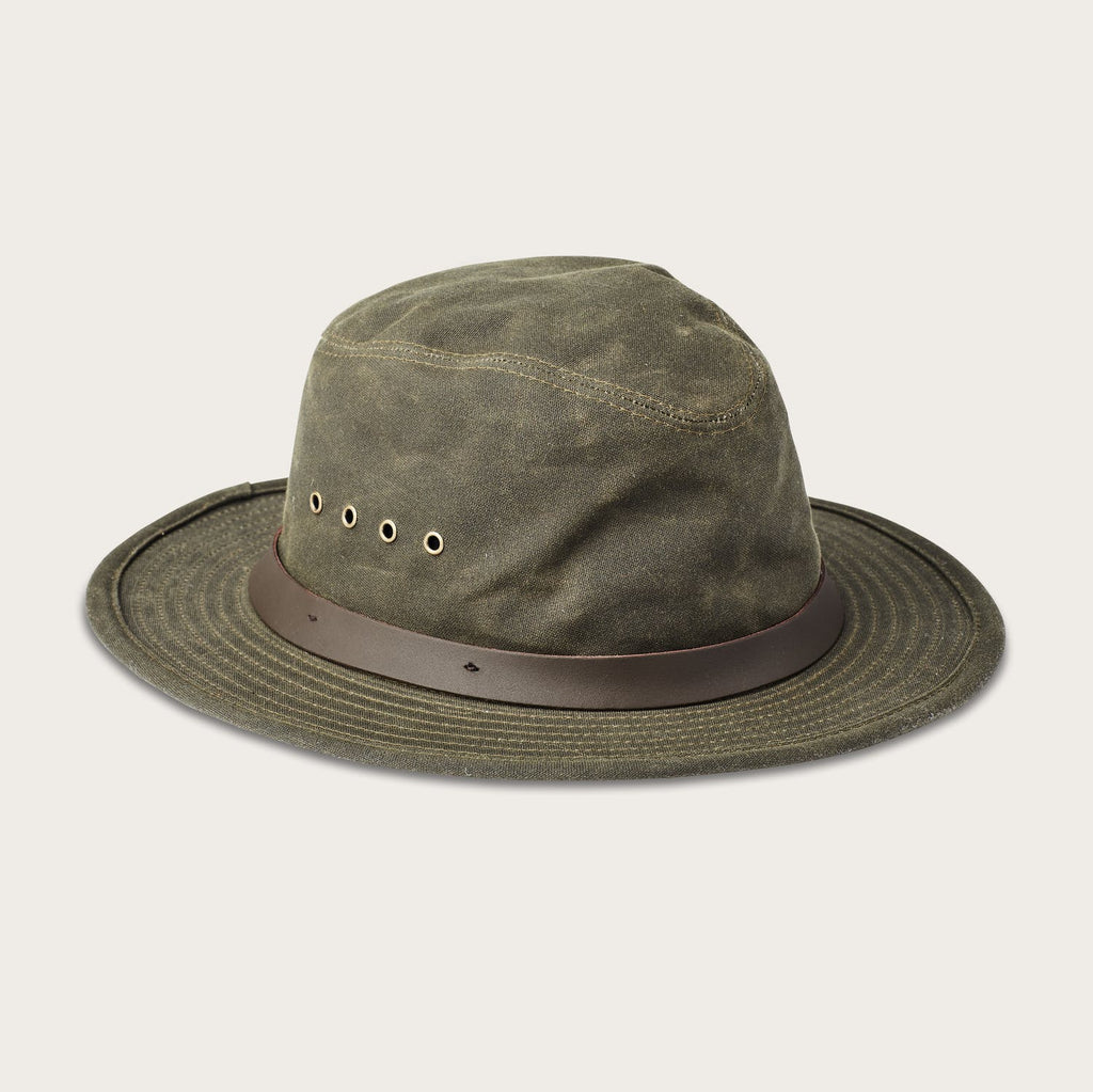 Filson - Tin Packer Hat - Otter Green - The Populess Company