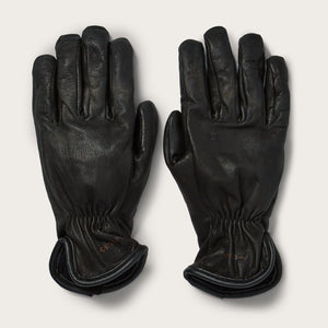 Filson - Original Lined Goatskin Gloves - Black - Large