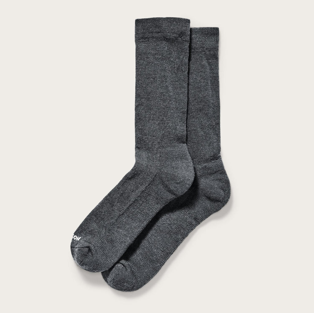 Filson - Everyday Crew Sock - Charcoal - The Populess Company