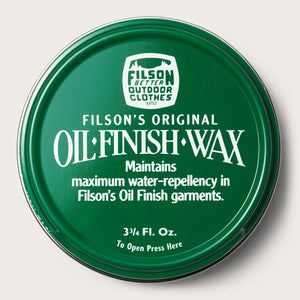 Filson - Oil Finish Wax - The Populess Company
