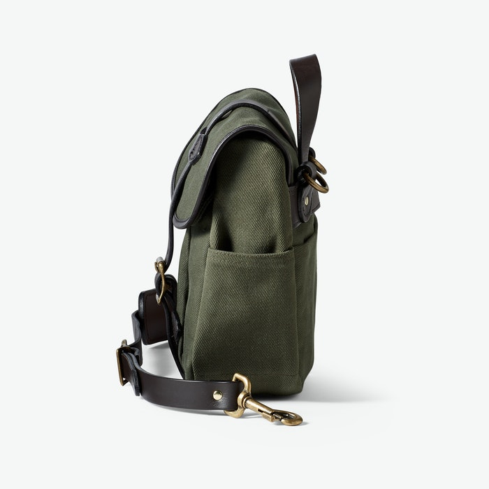 FILSON - SMALL RUGGED TWILL FIELD BAG - OTTER GREEN