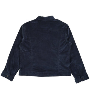 NAKED AND FAMOUS - Denim Jacket - Indigo Corduroy - The Populess Company