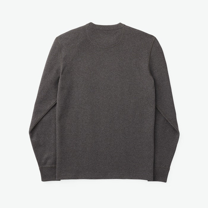 Filson - Waffle-Knit Thermal Crew - Charcoal