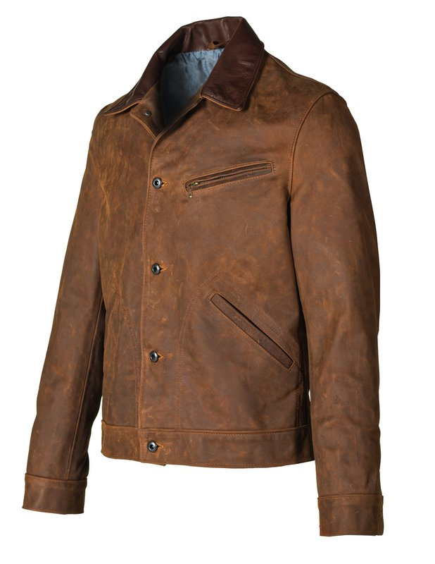 Schott NYC - Nubuck Cowhide Mechanic's Jacket