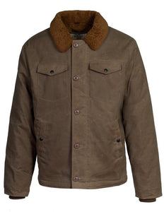 Schott NYC - Waxed Cotton Deck Jacket - Khaki