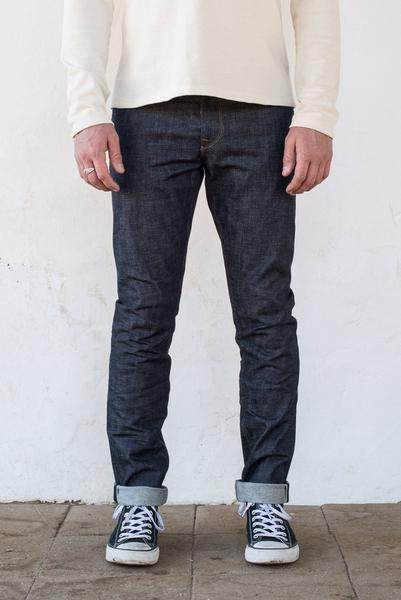 Freenote - 13oz Blue Indigo Avila Slim Taper - The Populess Company