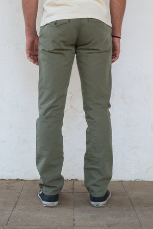 Freenote - Workers Chino Slim Straight - Olive - The Populess Company