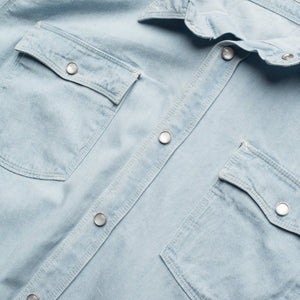 Freenote - Lancaster Button Up - Bleach - The Populess Company