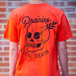 Til Death Tee - Orange - The Populess Company