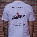 Wild Rose Jack Rabbit Tee - The Populess Company