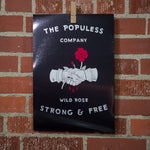Wild Rose Handshake 11X16 Print - The Populess Company