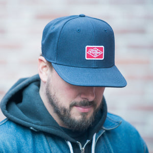Premium Cap - Navy - The Populess Company