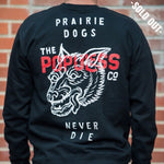Prairie Dog Crew Sweater - Black - The Populess Company