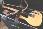 The Lee Guitar Strap - Black - The Populess Company