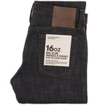 THE UNBRANDED BRAND - 16oz Slubby Selvedge Denim with Khaki Weft