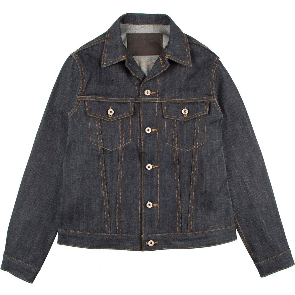 N&F - Left Hand Twill Denim Jacket - The Populess Company