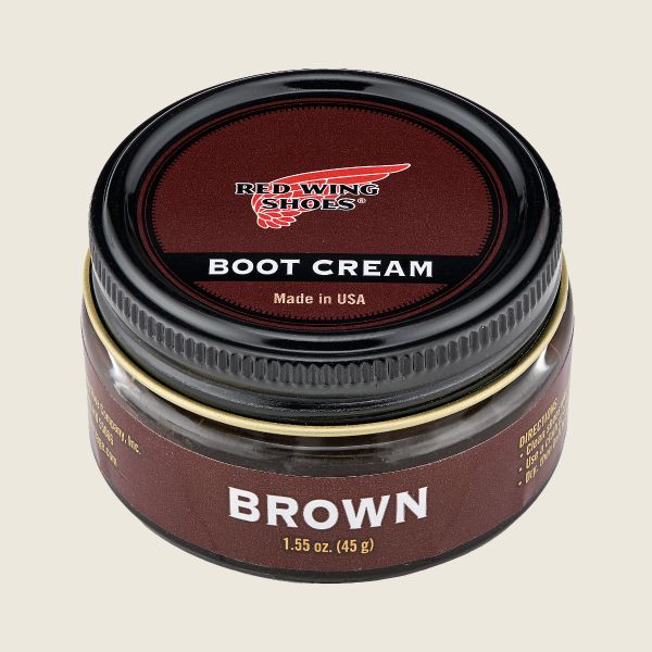 RED WING - BOOT CREAM BROWN