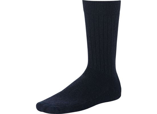 CLASSIC CREW RIB SOCK 97170 - Navy - The Populess Company