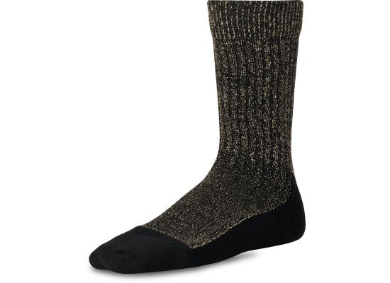 RED WING - DEEP TOE-CAPPED WOOL SOCK 97177 - Black - The Populess Company