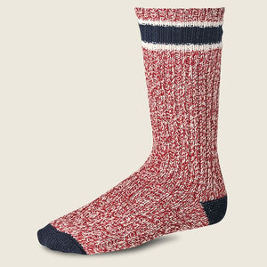 RED WING - RAGG WOOL SOCK - RED