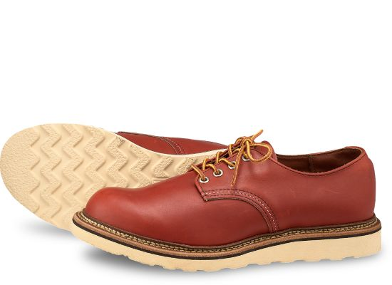 WORK OXFORD 8001 - Oro Russet Portage - The Populess Company