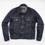 FREENOTE - CLASSIC DENIM JACKET 16OZ RINSED DENIM - The Populess Company