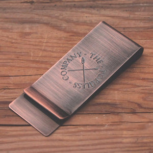TPC Money Clip - Antique Copper - The Populess Company