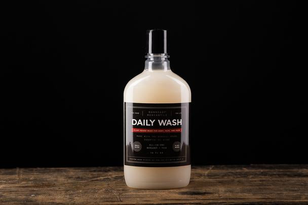 Manready Mercantile - All-in-1 Daily Bodywash - Bergamot + Teak - The Populess Company
