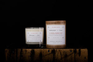Manready Mercantile - The Noble Series Soy Candle - Bergamot + Teak