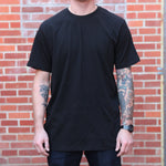 Wild Rose Bison Tee - Black - The Populess Company