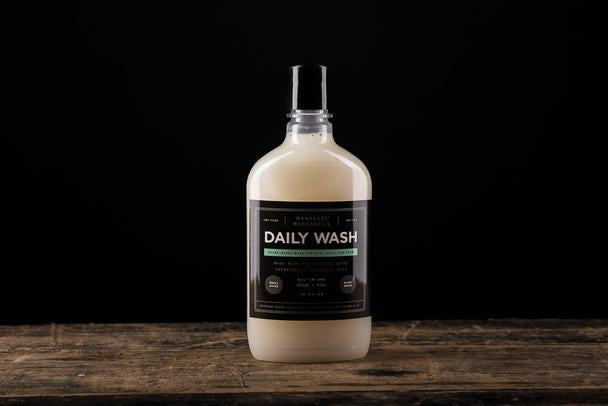 Manready Mercantile - All-in-1 Daily Bodywash - Cedar + Mint - The Populess Company