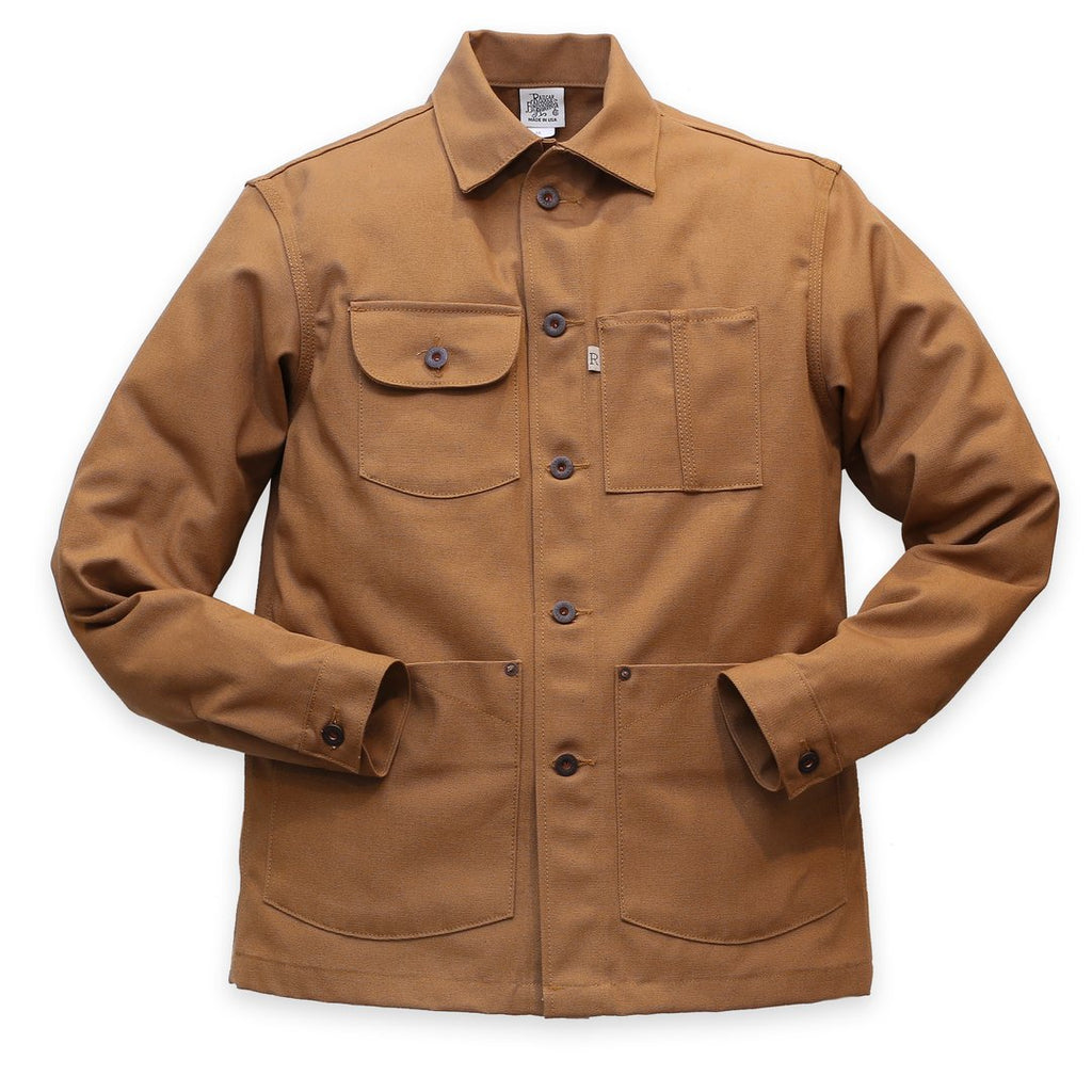 Railcar Fine Goods - Chore Coat - Camel - The Populess Company