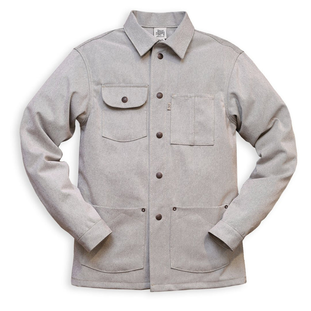 Railcar Fine Goods - Chore Coat - Oatmeal - The Populess Company