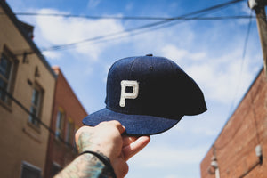 Rising Plains Cap - Indigo Denim