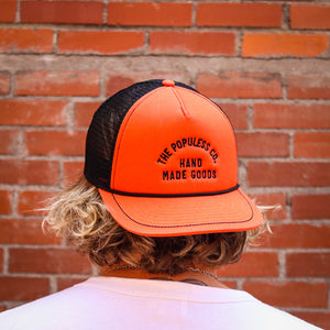 Lock-Up Meshback Cap - Rust/Black