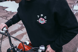 Fewer Better Things Crew Sweater - Black - The Populess Company