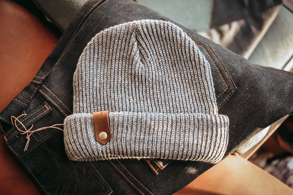 Davis Beanie - Grey Speckled