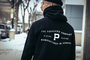 Rising Plains Hoody - Black - The Populess Company