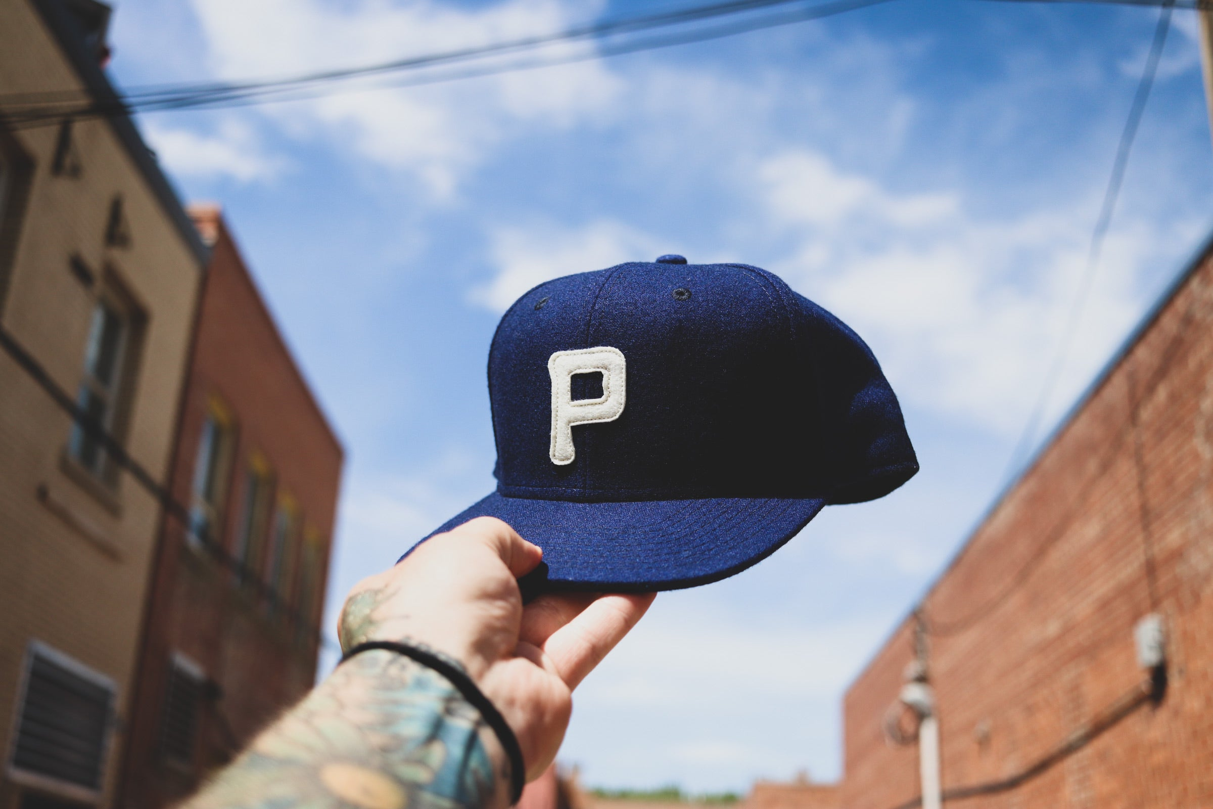 Rising Plains Cap - Navy Heritage Flannel