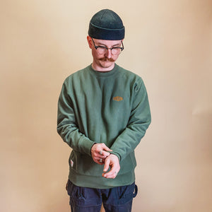 The Populess Co. - Station Crew Sweater - Moss
