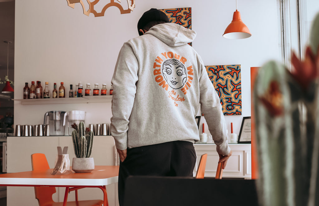 The Populess Co. - Worth Your While Hoody - Grey