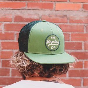 Badge Meshback Cap - Forest