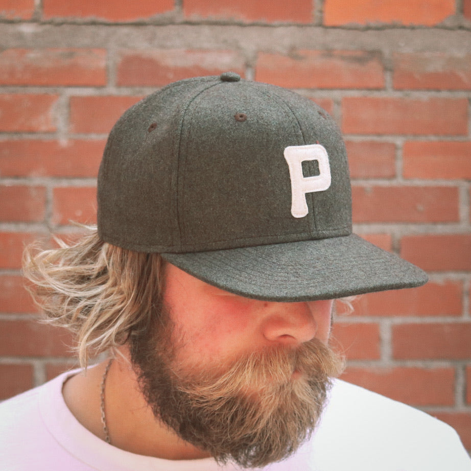 Rising Plains Cap - Moss Heritage Flannel